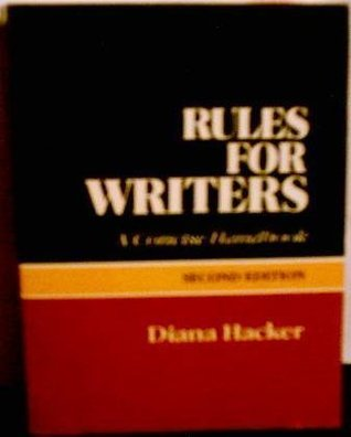 Rules for Writers: A Concise Handbook