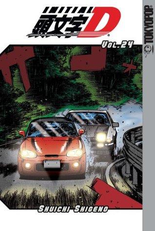 Initial D, Volume 24 by Shuichi Shigeno