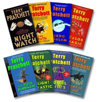 Pratchett 8 Book Set: Night Watch / Truth / Carpe Jugulum / Color of Magic / Fifth Elephant / Light Fantastic / Equal Rights / Thief of Time