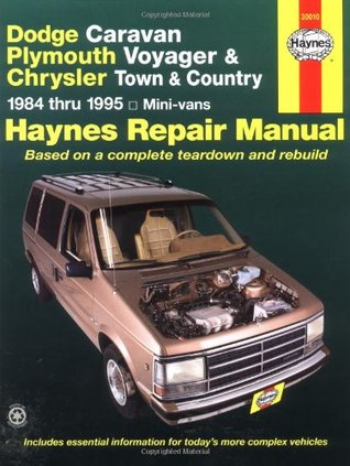 Dodge Caravan Plymouth Voyager & Chrysler Town & Country Mini-Vans 1984 Thru 1995
