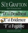 Gift Collection: D is for Deadbeat / E is for Evidence / F is for Fugitive