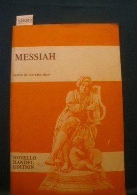 Messiah - Vocal Score - Novello Handel Edition