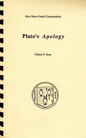 Plato's Apology (Greek Commentaries Series)