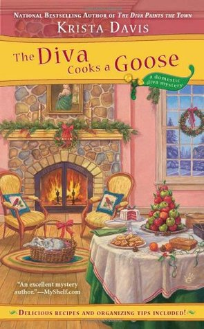 The Diva Cooks a Goose (A Domestic Diva Mystery, #4)