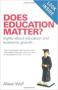 Does Education Matter?: Myths About Education and Economic Growth