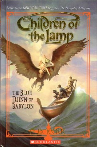 The Blue Djinn of Babylon (Children of the Lamp, #2)