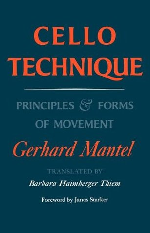 Gerhard mantel cello technique pdf