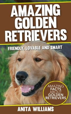 AMAZING GOLDEN RETRIEVERS: A Children's Book About Golden Retrievers Dogs and their 12 Amazing Facts, Figures, Pictures and Photos: (Dog Books For Kids)