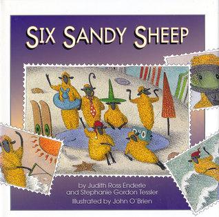Six Sandy Sheep