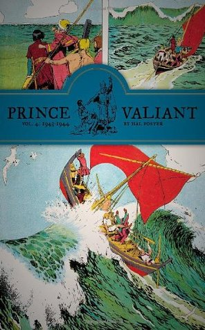 Prince Valiant, Vol. 4 by Hal  Foster