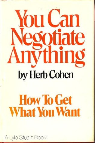 You Can Negotiate Anything | Download eBook pdf, epub ...