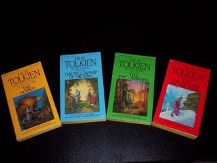 J. R. R. Tolkien Boxed Set: The Hobbit, The Fellowship of the Ring, The Two Towers, The Return of the King