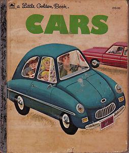 Cars (a Little Golden Book)