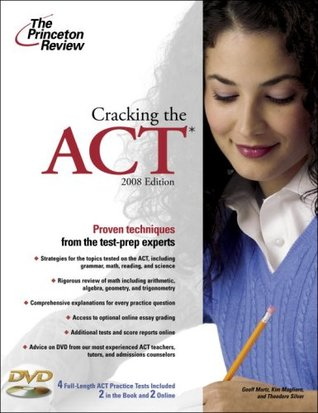 Cracking the ACT with DVD, 2008 Edition by The Princeton Review