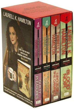 Laurell K. Hamilton Box Set (Anita Blake, Vampire Hunter, 1-4)