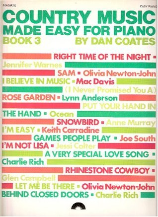 Country Music Made Easy For Piano (Book 3)