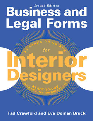 Business and Legal Forms for Interior Designers