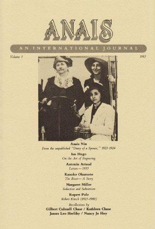 ANAIS: An International Journal, Volume 1