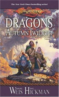 Dragons of Autumn Twilight by Margaret Weis