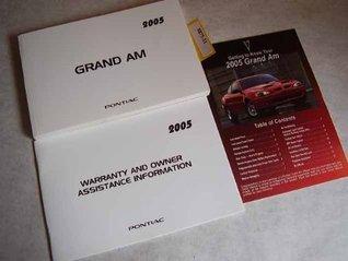 2005 Pontiac Grand Am Owners Manual