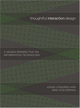 Thoughtful Interaction Design by Jonas Löwgren