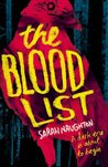 The Blood List by Sarah  Naughton
