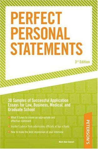Perfect Personal Statements, 3rd edition