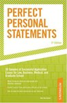 Perfect Personal Statements, 3rd edition (Peterson's How to Write the Perfect Personal Statement)