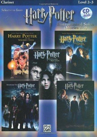 Harry Potter, Instrumental Solos (Movies 1-5): Clarinet (Book & CD) (Pop Instrumental Solo Series)