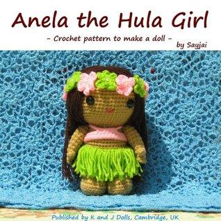 Anela the Hula Girl - Crochet pattern to make a doll