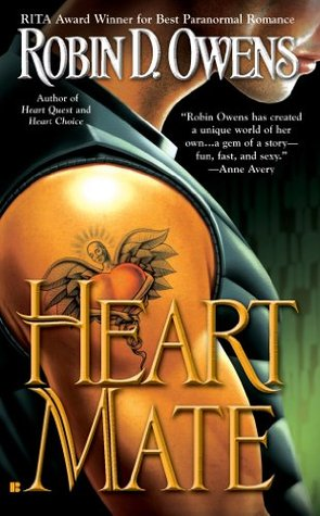 book cover: Heart Mate by Robin D. Owens (book 1 in the Celta series)