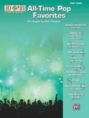 10 for 10 Sheet Music All-Time Pop Favorites: Piano Solos