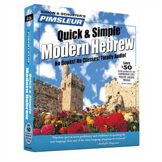 Hebrew, Q&S: Learn to Speak and Understand Hebrew with Pimsleur Language Programs Compartir ebook descarga gratuita