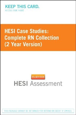 Hesi Case Studies: Complete RN Collection (2 Yr Version)