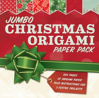 Jumbo Christmas Origami Paper Pack: 285 Sheets of Origami Paper Plus Instructions for 3 Festive Projects