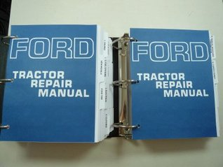 Ford 3400, 3500, 4000, 4400, 4500, 5000, 5500, 7000 Tractor Service Manual