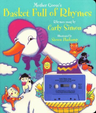 Mother Gooses Basket Full Of Rhymes: Board Book And Cassette