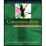 Communication: Principles for a Lifetime, Portable Edition - Volume 1 (Volume 1)