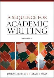 A Sequence for Academic Writing 4th (fourth) edition Text Only