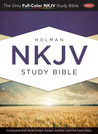 Holman Study Bible: NKJV Edition, Jacketed Hardcover