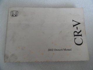 2002 Honda CR-V CRV Owners Manual