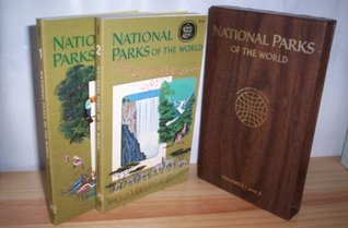 National Parks Of The World, Volume 1 & 2 in slipcase 1972 by Kai Curry-Lindahl & Jean-Paul Harroy (Volume 1--Europe/North America/South America) & (Volume 2--Africa/Asia/Australasia and Oceania) (Volume 1 and 2)