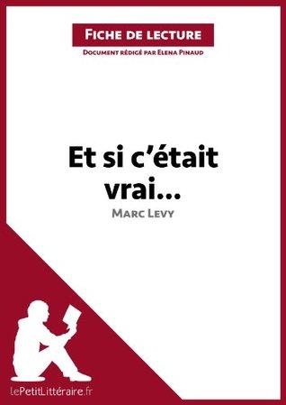 Et si c'était vrai... de Marc Levy (Fiche de lecture): Comprendre la littérature avec lePetitLittéraire.fr