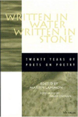 Written in Water, Written in Stone by Martin Lammon