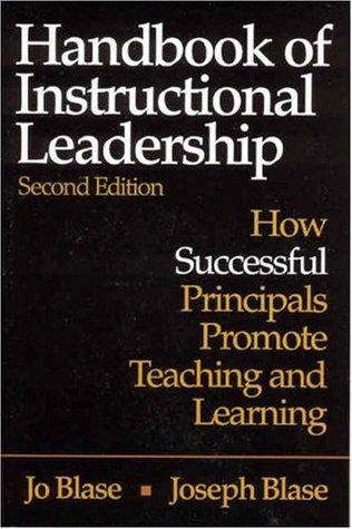 Handbook of Instructional Leadership: How Successful Principals Promote Teaching and Learning Joomla ebook pdf descarga gratuita