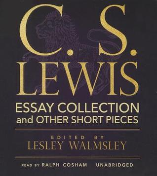 C s lewis essay collection other short pieces by c s lewis