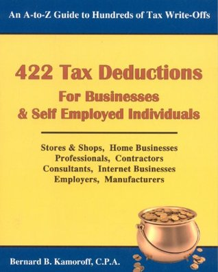 422 Tax Deductions for Businesses and Self Employed Individuals (422 Tax Deductions for Businesses & Self-Employed Individuals)