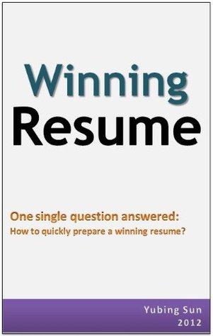 Winning Resume: how to quickly prepare a winning resume