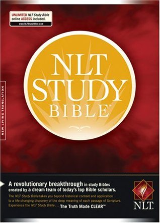 NLT Study Bible, Indexed Edition