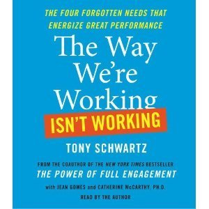 The Way We're Working Isn't Working: The Four Forgotten Needs That Energize Great Performance [Audiobook]